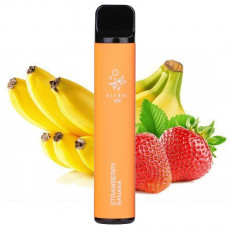 ЭЛЕКТРОНКА ELF BAR 1500  Strawberry Banana