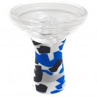 Чаша Garden Phunnel стекло с силиконом разноцветная 5017a