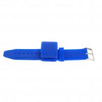 Браслет-держатель для шланга силиконовый синий