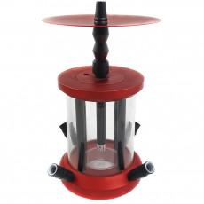 Кальян Cylinder красный 6808-2