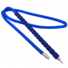 Шланг с мягким мундштуком синий 4449-1